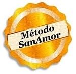Logo del Método Online SanAmor para generar una Autoestima Femenina de Hierro en el Amor (por Óscar Martín-Blas)